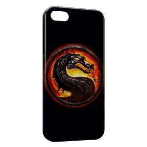 Coque iPhone 5C Mortal Kombat Deisgn Black Style