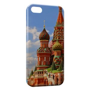 Coque iPhone 5C Moscou Russie