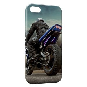 Coque iPhone 5C Moto 5