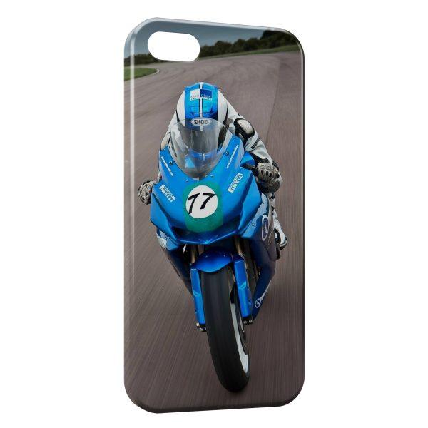 Coque iPhone 5C Moto Sport