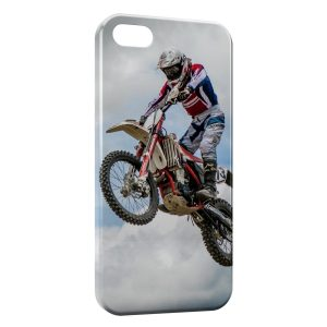 Coque iPhone 5C Motocross