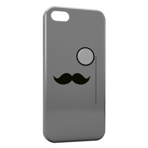 Coque iPhone 5C Moustache