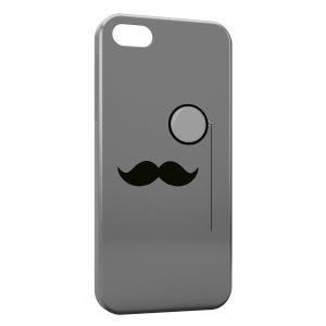 Coque iPhone 5C Moustache