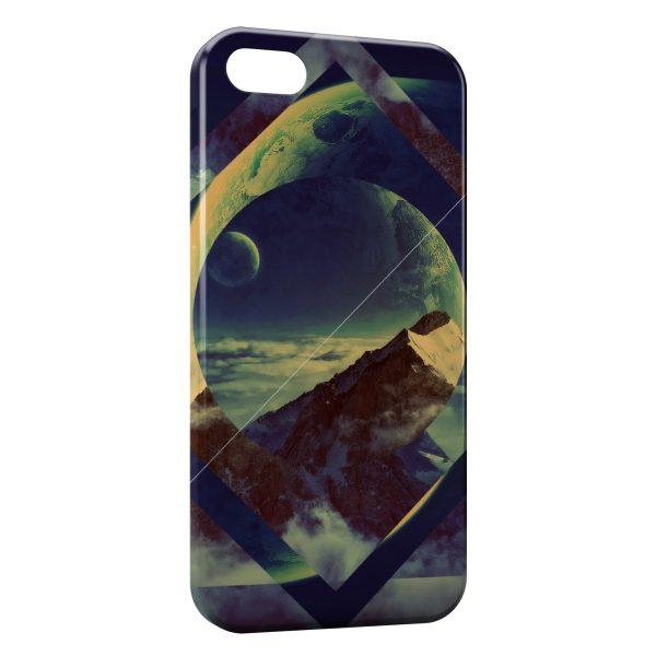 Coque iPhone 5C Moutain Design