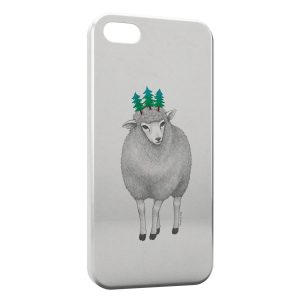 Coque iPhone 5C Mouton Style Design