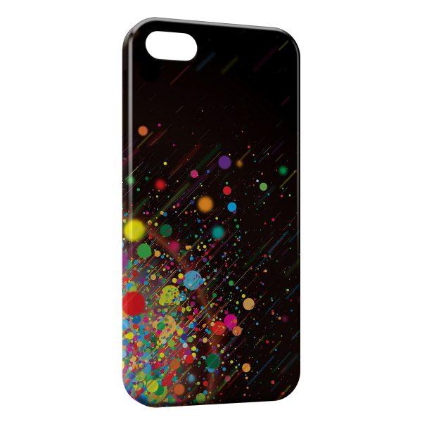 Coque iPhone 5C Multicolor 1