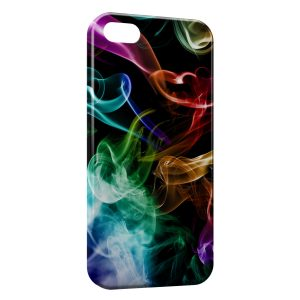 Coque iPhone 5C Multicolor Smoke