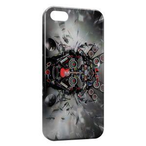 Coque iPhone 5C Music Head