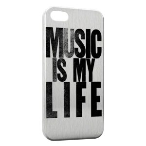 Coque iPhone 5C Music is My Life