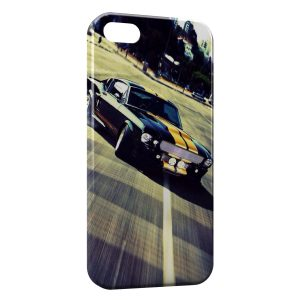 Coque iPhone 5C Mustang Design voiture
