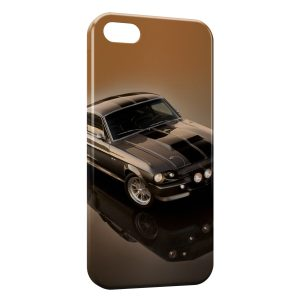 Coque iPhone 5C Mustang Style voiture