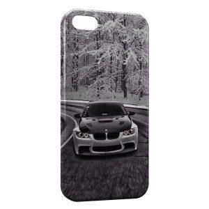 Coque iPhone 5C Neige & BMW voiture