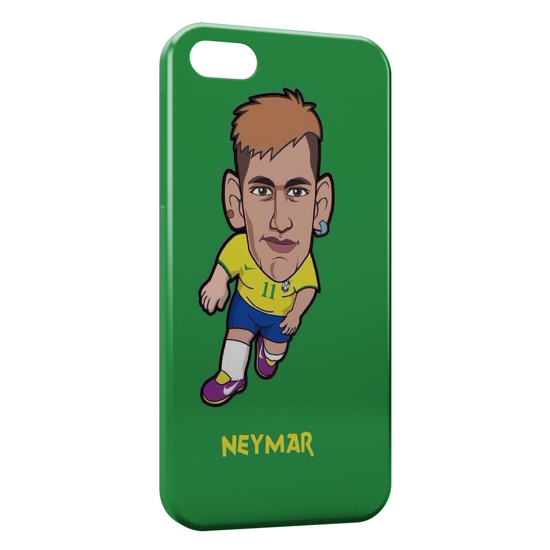 Coque iPhone 5C Neymar Football
