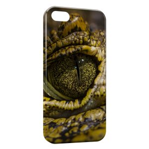 Coque iPhone 5C Oeil Croco