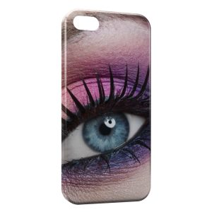 Coque iPhone 5C Oeil Girly