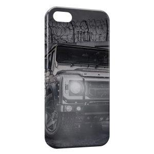 Coque iPhone 5C Off-road Land Rover Defender 4x4