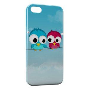 Coque iPhone 5C Oiseaux