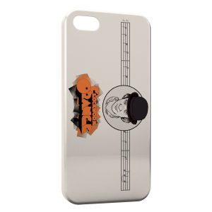 Coque iPhone 5C Orange Mécanique 2