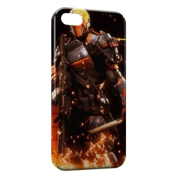 Coque iPhone 5C Orange Soldier