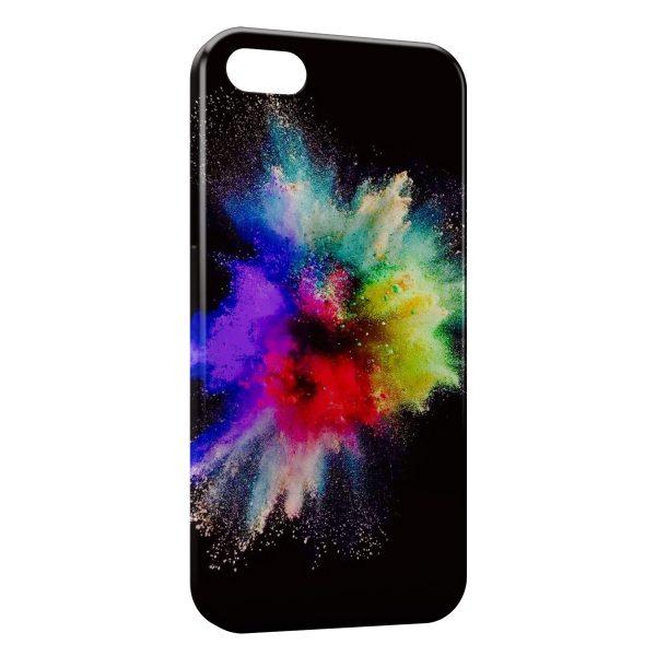 Coque iPhone 5C Painted Explosion
