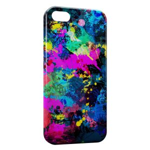 Coque iPhone 5C Painted colors
