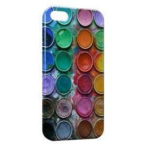 Coque iPhone 5C Palette Peinture