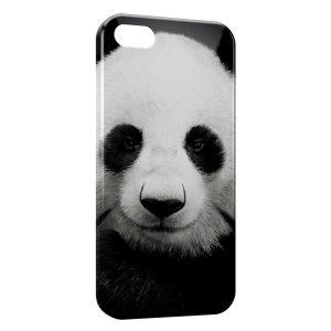 Coque iPhone 5C Panda Black White 3