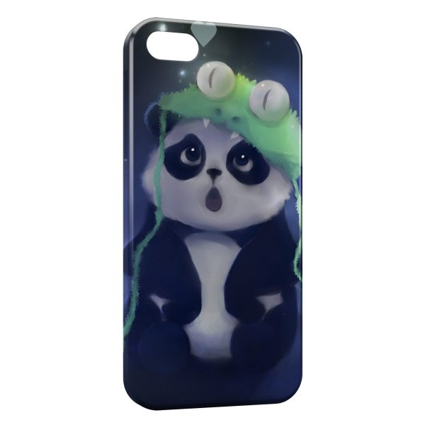 Coque iPhone 5C Panda Kawaii Cute 2 600x600