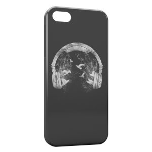 Coque iPhone 5C Peaceful Beat