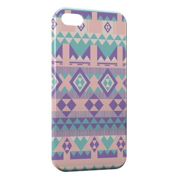 Coque iPhone 5C Peaceful Style Aztec