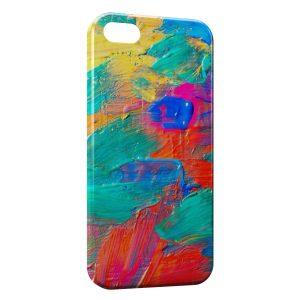 Coque iPhone 5C Peinture à l'huile