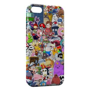 Coque iPhone 5C Personnages Manga Cartoon Web Youtube