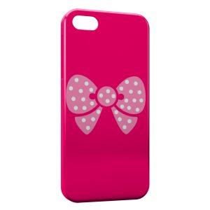 Coque iPhone 5C Petit Noeud Rose Cute