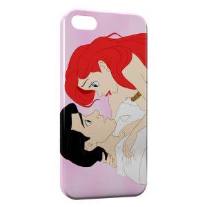 Coque iPhone 5C Petite sirène Ariel Prince Eric Disney