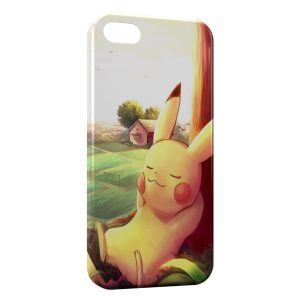 Coque iPhone 5C Pikachu Keep Calm Pokemon