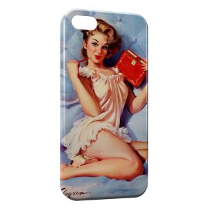 Coque iPhone 5C Pin up 2
