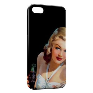 Coque iPhone 5C Pin up Painted 3