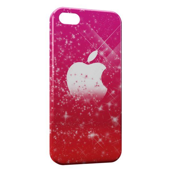 Coque iPhone 5C Pink Apple 600x600