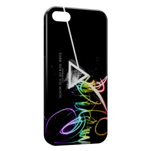 Coque iPhone 5C Pink Floyd Dark Side Of The Moon