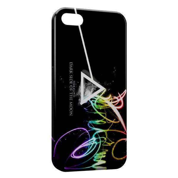 Coque iPhone 5C Pink Floyd Dark Side Of The Moon