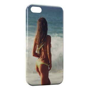 Coque iPhone 5C Plage & Bikini