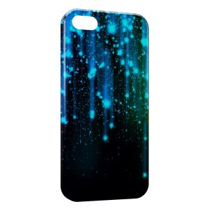 Coque iPhone 5C Pluie & Galaxy