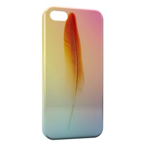 Coque iPhone 5C Plume