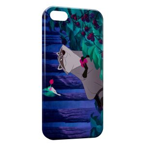 Coque iPhone 5C Pocahontas Meeko
