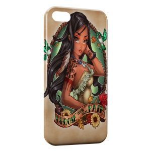 Coque iPhone 5C Pocahontas Punk