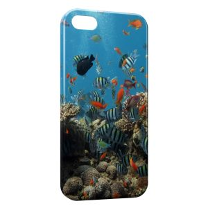Coque iPhone 5C Poissons 2