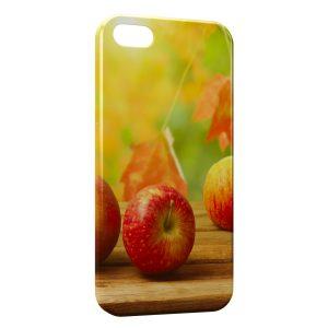 Coque iPhone 5C Pommes en automne