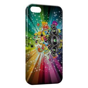 Coque iPhone 5C Pop Music