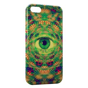 Coque iPhone 5C Psychedelic Eye