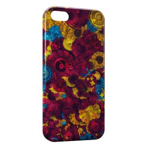 Coque iPhone 5C Psychedelic Style 2